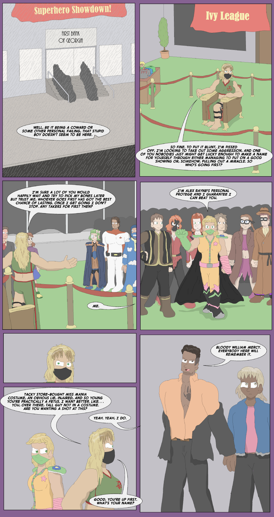 Like The Rain, They Fall- Page 7