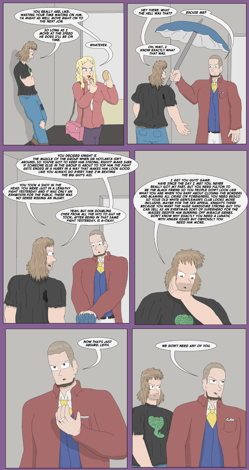 Storms Are Brewing- Page 6
