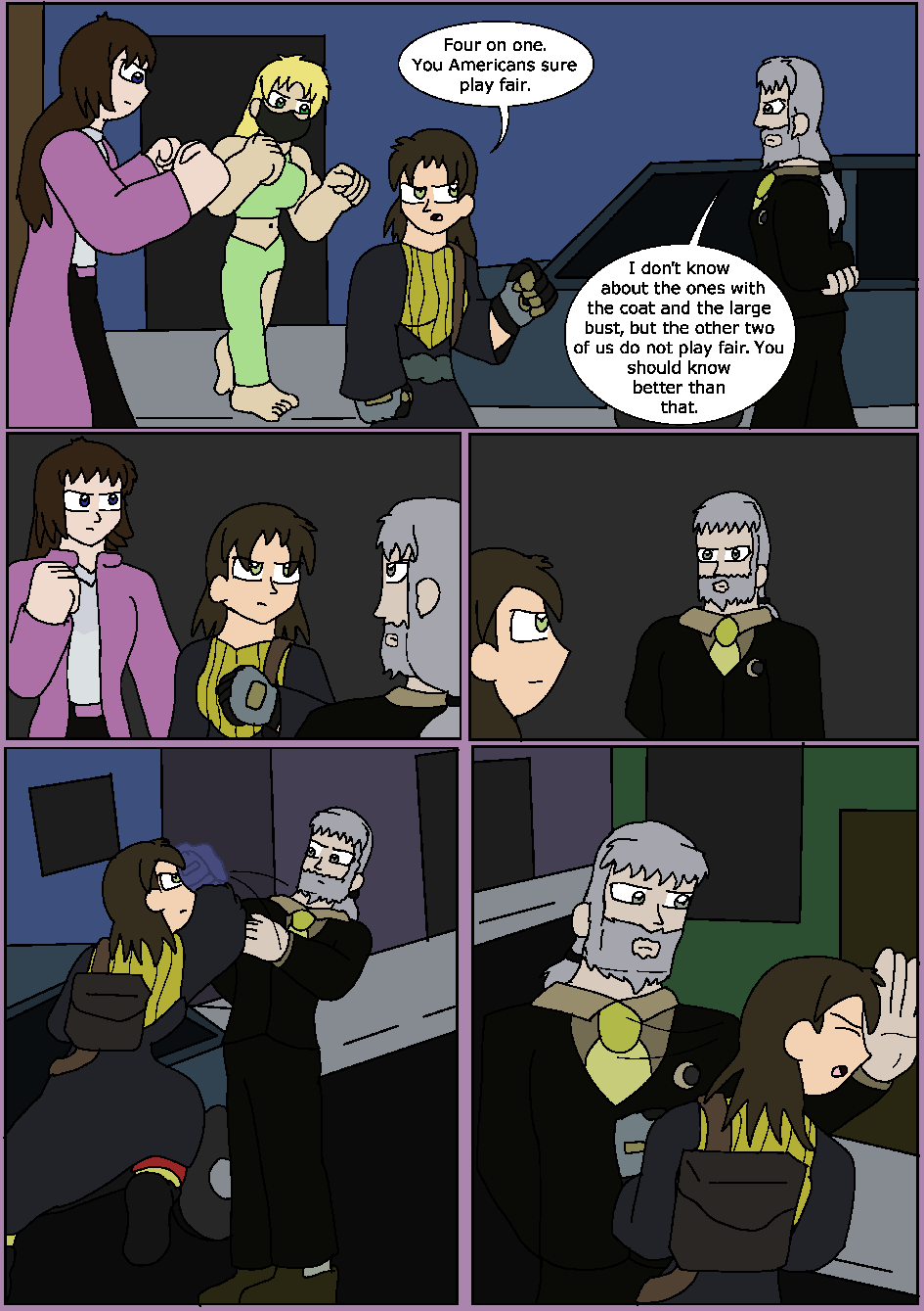 The Black Flame, Page 17