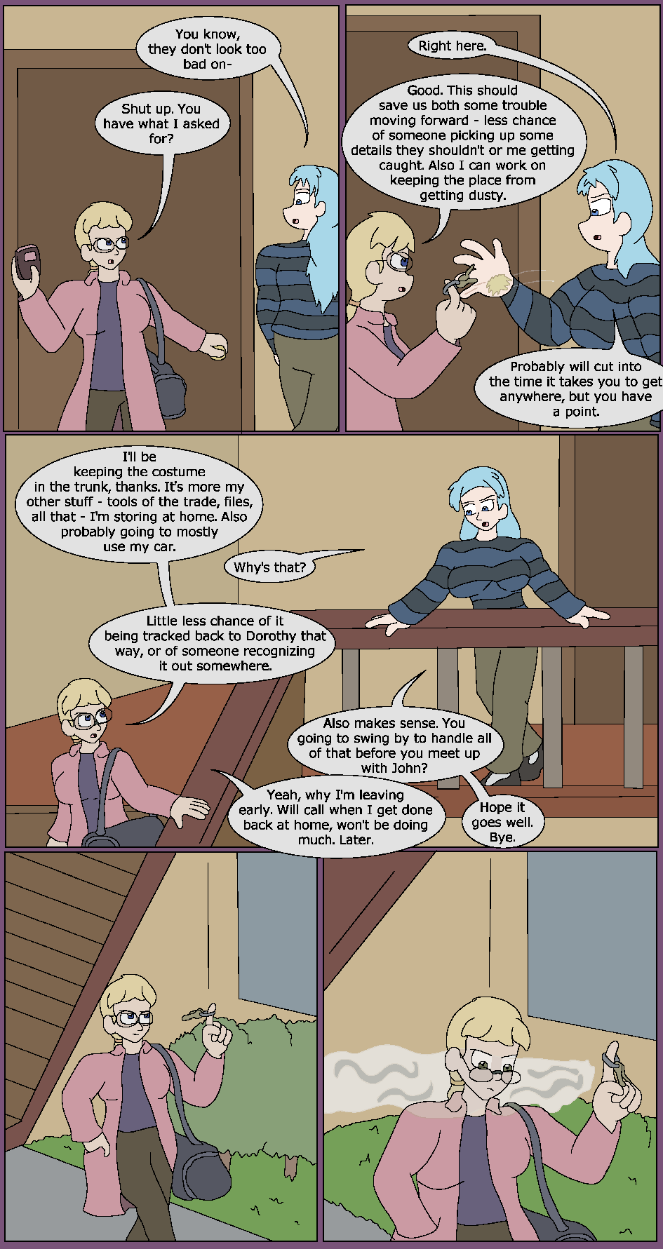 A Time For Work, Page 2